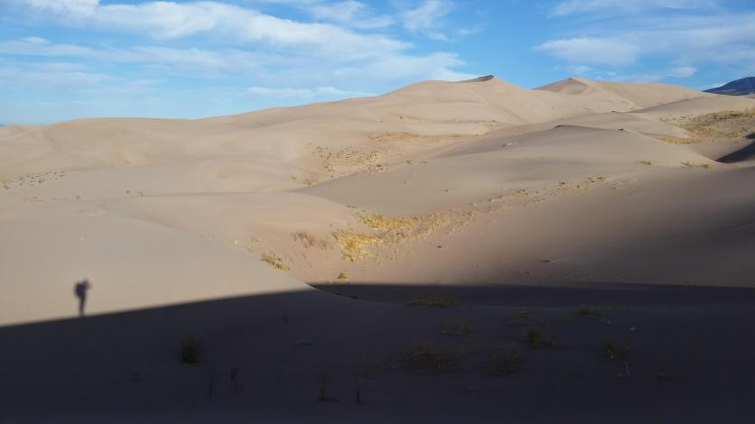 Alone in the dunes